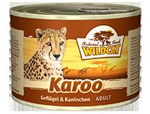 Консервы для кошек WILDCAT Karoo (птица, кролик, лосось/батат)