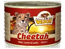 Консервы для кошек WILDCAT Cheetah (индейка/оленина/ягненок)