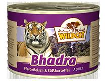 Консервы для кошек WILDCAT Bhadra (конина/батат)