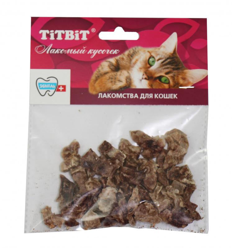Лакомства для кошек TiTBiT Лёгкое баранье мягкая упаковка