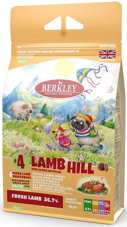 Berkley №4 Lamb Hill Ягненок для собак мелких и средних пород