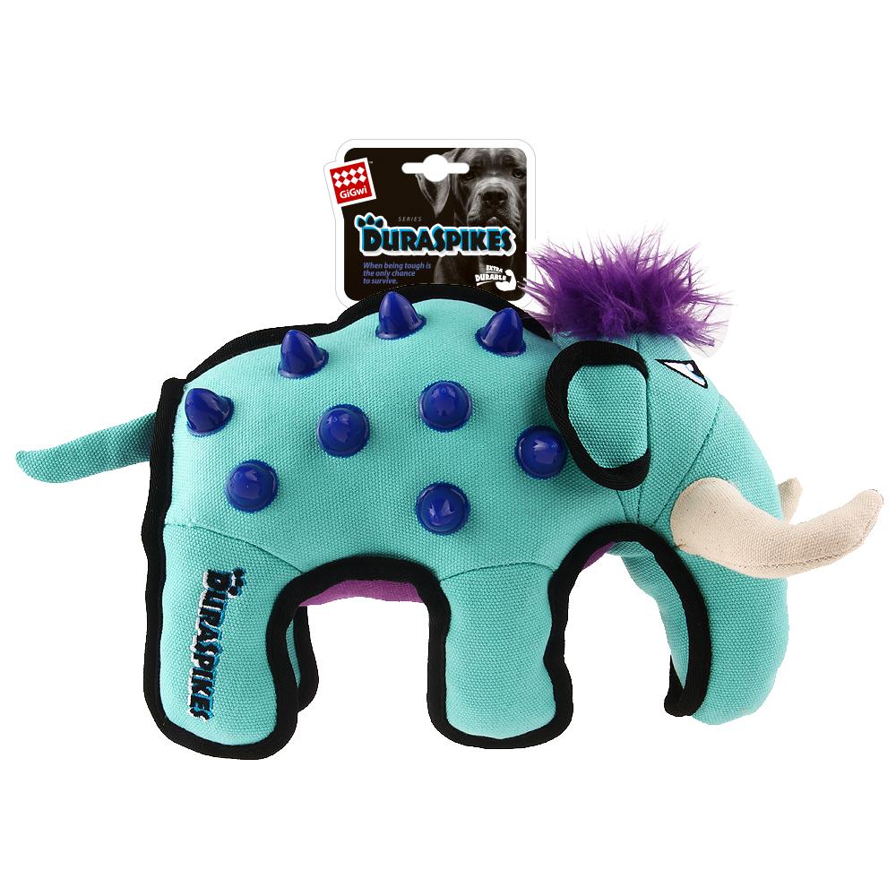 Игрушка для собак GIGWI Дюраспайк Слон 32*15*22см (75396)