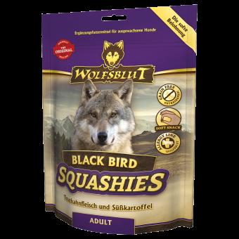 Мягкое печенье для собак WOLFSBLUT Squashies Black Bird Adult - Черная птица 300 г