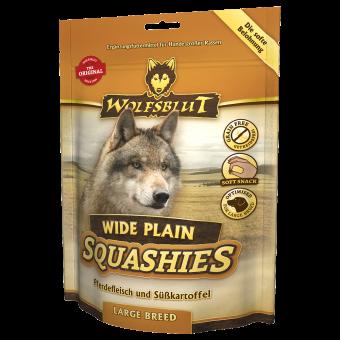 Мягкое печенье для собак WOLFSBLUT Squashies Wide Plain Large Breed - Широкая равнина крупные породы 300 г
