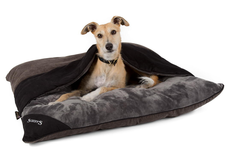 """Лежак - нора для собак """"Chester"""" SCRUFFS , серый"""