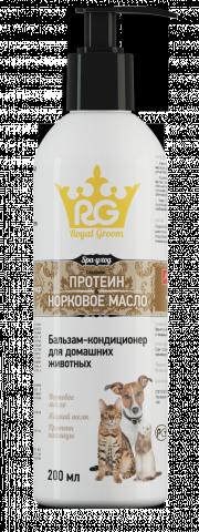 Бальзам-кондиционер Роял Грум с протеином и норковым маслом