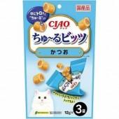 "Лакомства для кошек INABA ""Подушечки с начинкой из тунца-бонито"" 12гр*3 пакетик"