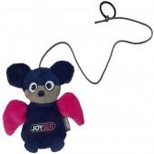 Игрушка для кошек JOYSER Cat Teaser Дразнилка на палец Летучая мышка синяя, 12 см (7068)