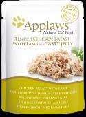 "Паучи для кошек ""Кусочки курицы с ягненком в желе"" (Chicken&Lamb in Jelly)"