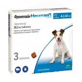 Жевательная таблетка Фронтлайн НЕКСГАРД для собак 4,1-10 кг