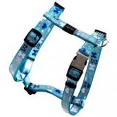 Шлейка ROGZ - Trendy, светоотражающая, голубая, M (SJ523B)