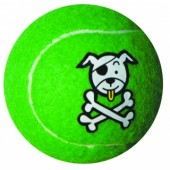 Игрушка мяч из литой резины ROGZ  Молекула лайм