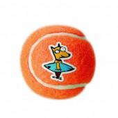 Игрушка мяч из литой резины ROGZ  Молекула оранжевый