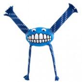 """Игрушка с принтом """"зубы"""" и пищалкой ROGZ синяя"""