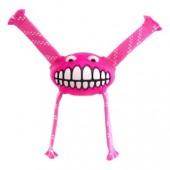 """Игрушка с принтом """"зубы"""" и пищалкой ROGZ розовая (FGR01K)"""
