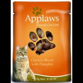 """Паучи для кошек """"С курицей и тыквой"""" (Cat Chicken & Pumpkin pouch)"""
