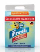 Впитывающие пеленки Mr. Fresh гелевые 60*90