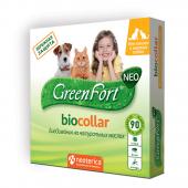 Ошейник Green Fort Био для кошек и мелких пород собак 40 см