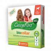 Ошейник Green Fort Био для средних пород собак 65 см
