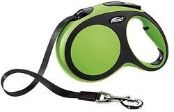 Рулетка-лента FLEXI NEW COMFORT L для собак весом до 60кг, 5м