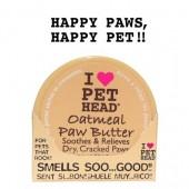 "Масло для потрескавшихся лап ""I LOVE PET HEAD"" с маслами ши, овсянки, жожоба, кокоса, оливок и алоэ вера (OATMEAL Natural Paw Butter)"