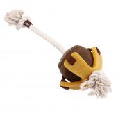 Игрушка для собак GIGWI Мяч на веревке 40см (75458)