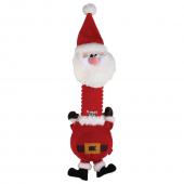 Игрушка для собак GIGWI Санта с пищалкой, 45см (75470)