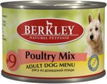 """Консервы для собак №9 """"Рагу из птицы"""" (Adult Poultry mix)"""