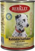 """Консервы для щенков """"Кролик с овсянкой"""" (Puppy Rabbit&Oatflakes)"""