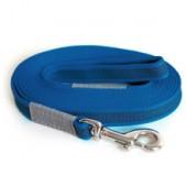 Поводок прорезиненный синий ZOOMASTER 20мм