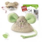 Игрушка для кошек GIGWI Мышка с кошачьей мятой (75041)