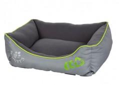 """Лежак для собак с бортиками """"Eco"""" SCRUFFS , серый"""