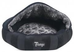 """Лежак для кошек и собак с крышей """"Aristocat Dome Bed"""" TRAMPS, черный"""