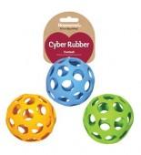 Игрушка для собак резиновая ROSEWOOD Cyber Rubber Мяч сетчатый