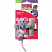 """Игрушка для кошек KONG  """"Крыса"""" с кошачьей мятой, 12см"""