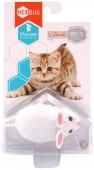 """Игрушка для кошек интерактивная, микроробот HEXBUG """"Мышка Уайт"""", белая"""