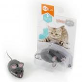 """Игрушка для кошек интерактивная, микроробот HEXBUG""""Мышка Грей"""", серая"""