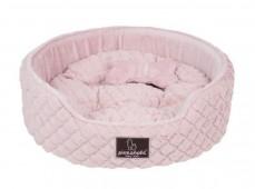 """Лежак круглый с косточкой PINKAHOLIC """"Arctic Bed"""", розовый, 50х46х16см"""
