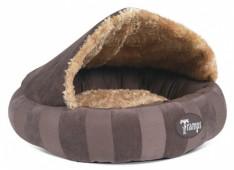 """Лежак для кошек и собак с крышей """"Aristocat Dome Bed"""" TRAMPS, коричневый"""
