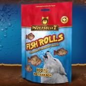 Fish Rolls Rotbarsch - Роллы из окуня 100 гр