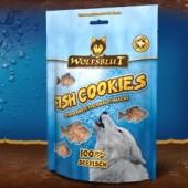 Cookies Seefisch - Печенье из морской рыбы 150 гр