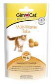 Витамины для кошек Multi-Vitamin Tabs для поддержки иммунитета, 40 гр - 67 шт