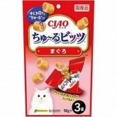 """Лакомства для кошек INABA """"Подушечки с начинкой из желтоперого тунца"""" 12гр*3 пакетика"""