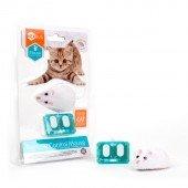 """Игрушка для кошек интерактивная, микроробот на управлении HEXBUG """"Мышка"""", белая"""