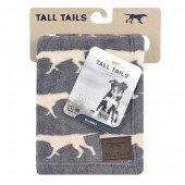 """Одеяло для животных флис ROSEWOOD """"Tall Tails"""", серое с собаками"""