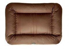 Двусторонний лежак-понтон коричневый