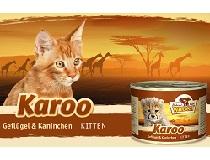 Консервы для котят WILDCAT Karoo Kitten (птица, кролик, лосось/батат)