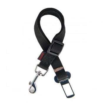 Ремень безопасности для собак автомобильный PUPPIA, черный, 30-50см
