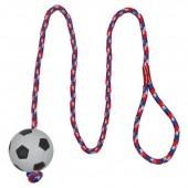 Игрушка TRIXIE Мяч на веревке, 100см, d 6см.