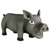 Игрушка TRIXIE Свинка хрюкающая, латекс